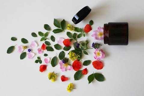 Flores. Curso de cuidados naturales de la piel