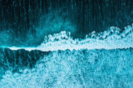 Olas de mar. Curso Detox con drenaje linfático