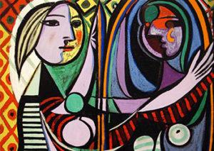 Mujer espejo. Picasso